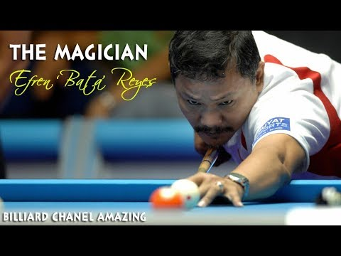Thumbnail: Efren 'Bata' REYES - Best shots || You are Genius P2