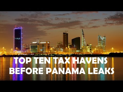 Top 10 Tax Havens Before Panama Leaks