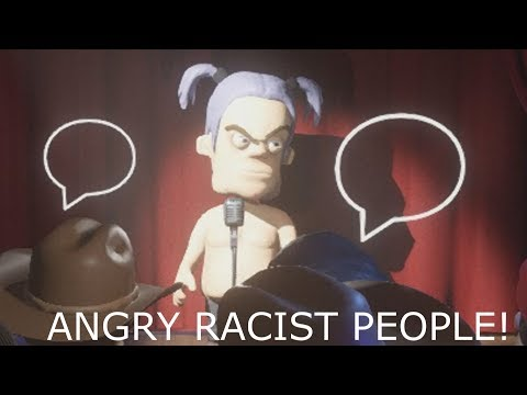 Comedy Night Funny Moments - Angry Racist People |
