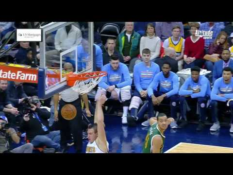 Utah Jazz vs Denver Nuggets | January 24, 2017 | NBA 2016-17 Season