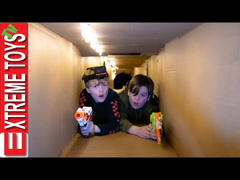 Giant Box Fort