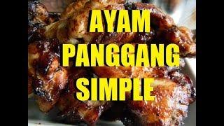 Resepi Ayam Panggang Simple Credit to zmila.thai tag: ayam,ayam panggang,ayam masak blackpaper,ayam tesco,ayam panggang simple,ayam goreng,ayam ...