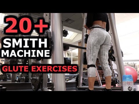 24 Smith Machine Glute & Leg Exercises