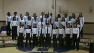 "HMS Choir, Spring Concert, ""My America"""