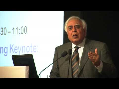 Kapil Sibal @ One Globe 2012 Uniting Knowledge Communities Conference