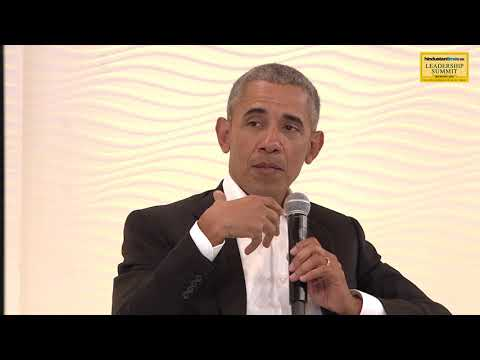 HT Leadership Summit 2017 || Barack Obama on his relationship with PM Modi