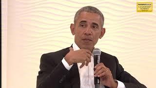 HT Leadership Summit 2017 || Barack Obama on his relationship with PM Modi