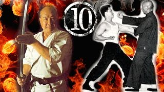 The 10 Grandmasters Of Martial Arts Fighting☯   Ip Man, Mas Oyama, Benny Urquidez & More