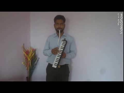 Mere Rashke Qamar on Piano Melodica music instruments no 1 song