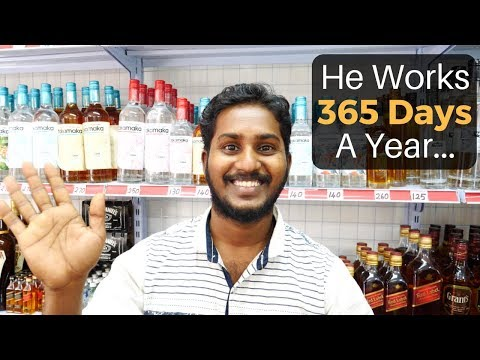 He Works 365 Days Every Year (Seychelles)