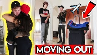 I'M QUITTING YOUTUBE PRANK (Moving home..)