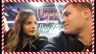 WINTER STORM & ARMY NAVY | VLOGMAS 7-9 | Casey Holmes Vlogs