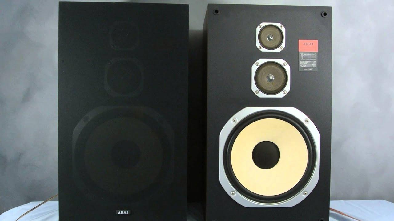 Akai Model Sr La301 Speakers For Sale On Ebay Youtube