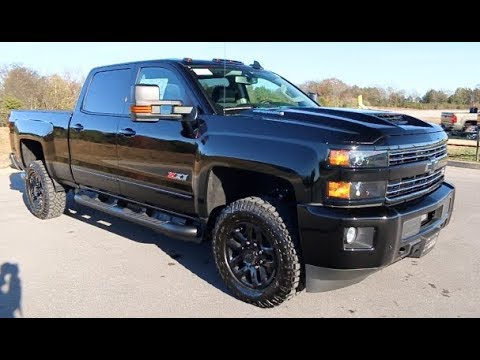 2018 chevy silverado 2500hd crew cab lt z71 4x4 midnight edition duramax at wilson county. Black Bedroom Furniture Sets. Home Design Ideas