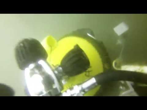 Stuck in a sunken boat