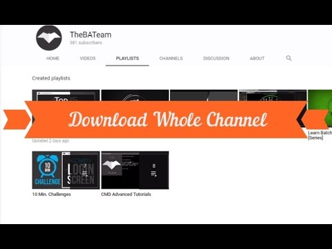 Download Youtube Videos From CMD With Notepad Script   Youtube-dl Plugin   VideoStealer By TheBATeam