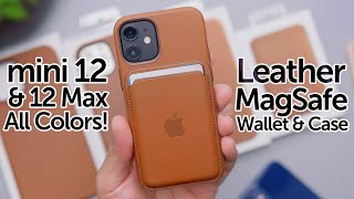 iPhone 12 MagSafe Wallet & Leather Case Review on All Colors! Worth It?