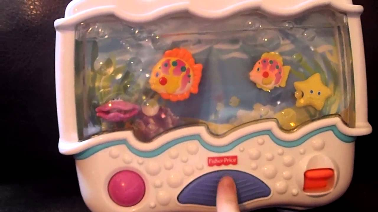 Fisher Price Ocean Wonders Aquarium Soother Baby Crib Toy