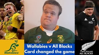 Wallabies vs All Blacks RECAP: Scott Barrett Red Card?