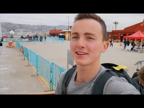 TRAVELING AROUND THE WORLD ON A SHIP?!
