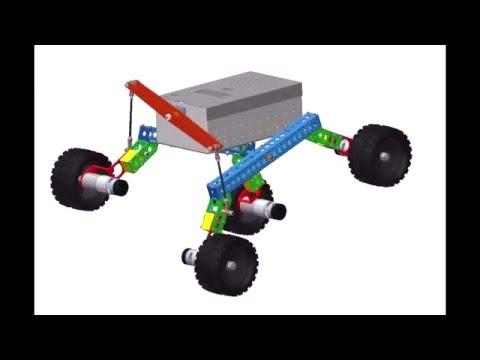 Development and autonomous navigation of a field robot