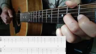 Worried Man Blues: Beginner Flatpicking Guitar Lesson (Free TAB)