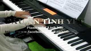 Dấu Ấn Tình Yêu Piano (with lyrics) - covered by Linh Nhi - LopNhacSacMau