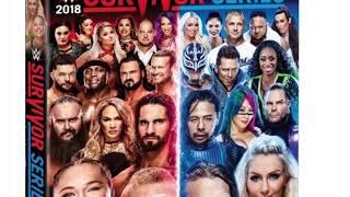 WWE Survivor Series 2018 DVD Artwork And Extras