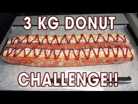 WORLD'S BIGGEST DONUT CHALLENGE!!