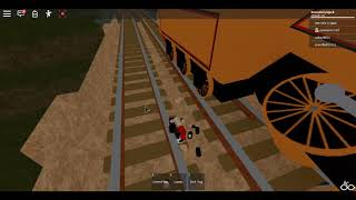 playing the cool beans railway in Roblox