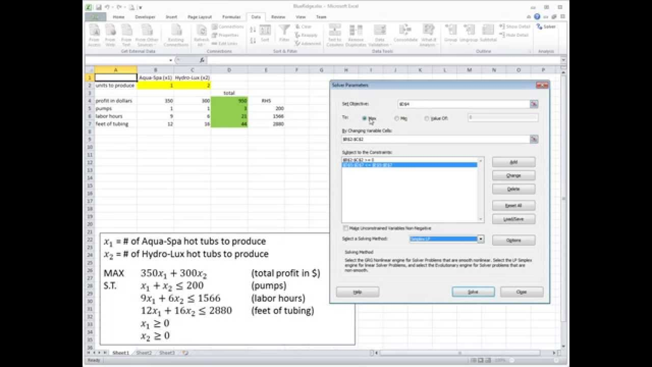 how to add excel solver reference