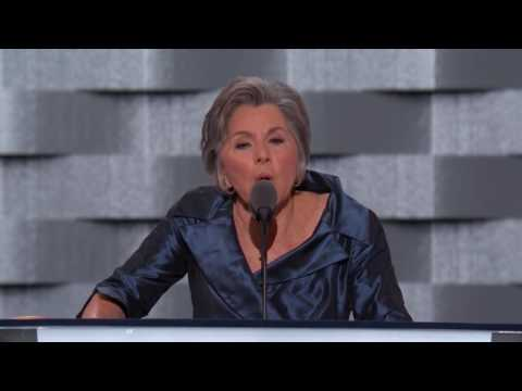 Senator Barbara Boxer at DNC 2016