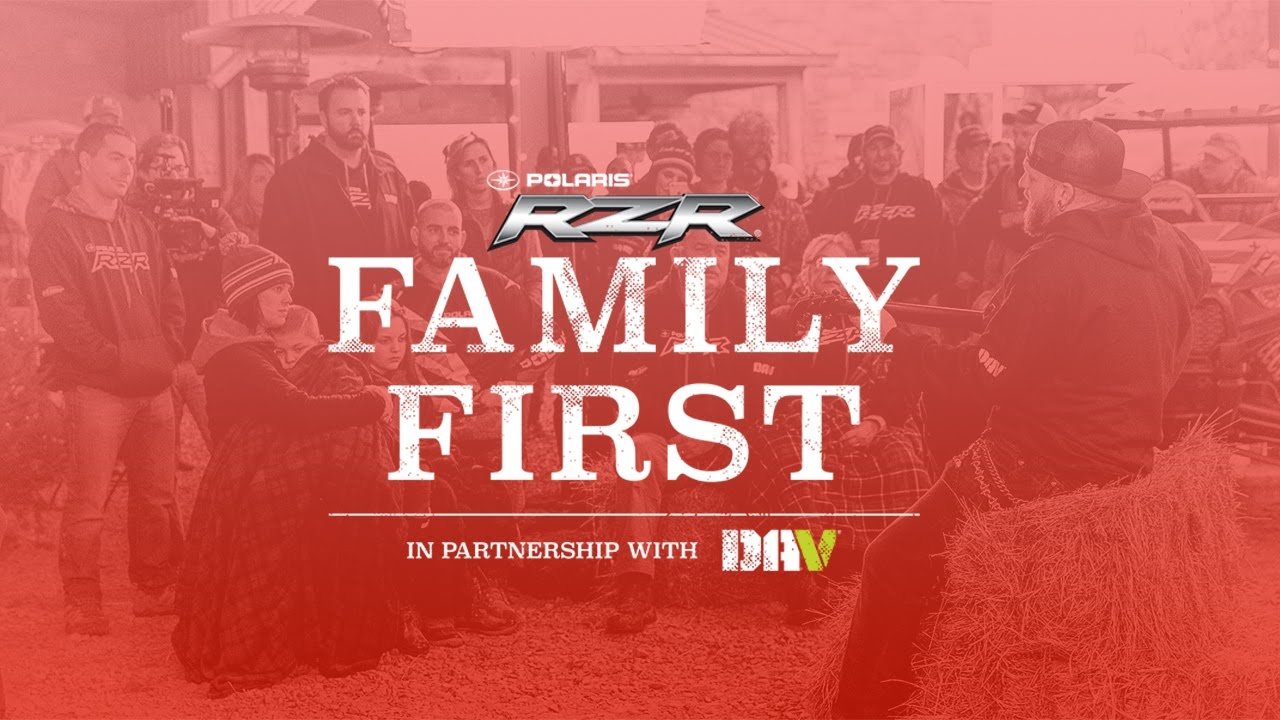 RZR Family First in partnership with Brantley Gilbert & DAV - Polaris RZR