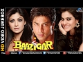 Baazigar - Hd Songs | Shahrukh Khan | Kajol | Shilpa Shetty | Video Jukebox - Bollywood Hits video
