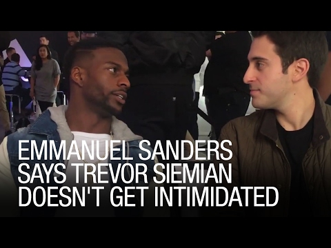 Emmanuel Sanders Says Trevor Siemian Doesn