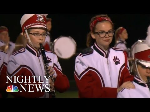 Student Gives Up Marching Band Spot To Serve As Blind Band Mate's 'Eyes'   NBC Nightly News