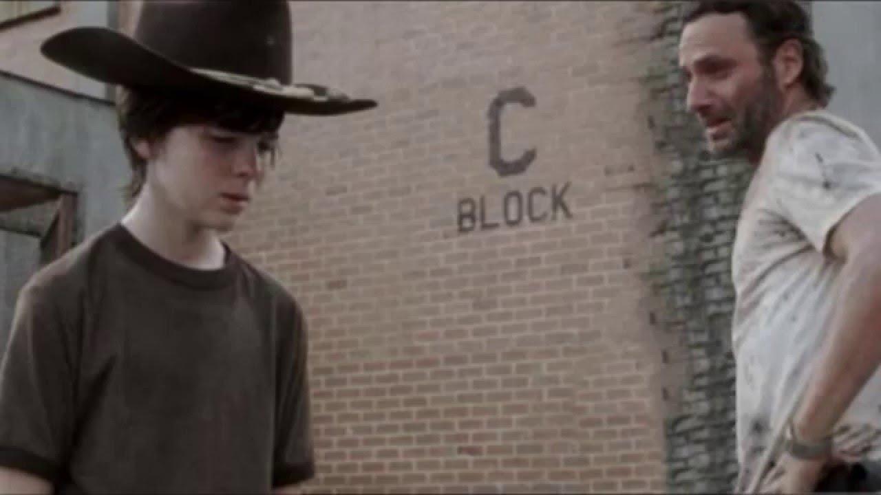 The Walking Dead Carl Strand Meme German Youtube