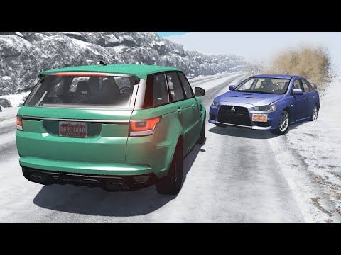 Realistic Car Crashes 20 - BeamNG Drive