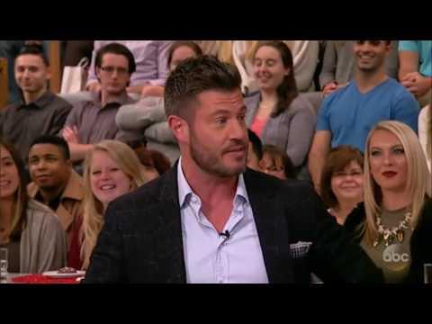 The Chew (December 15, 2016) TV host Jesse Palmer.
