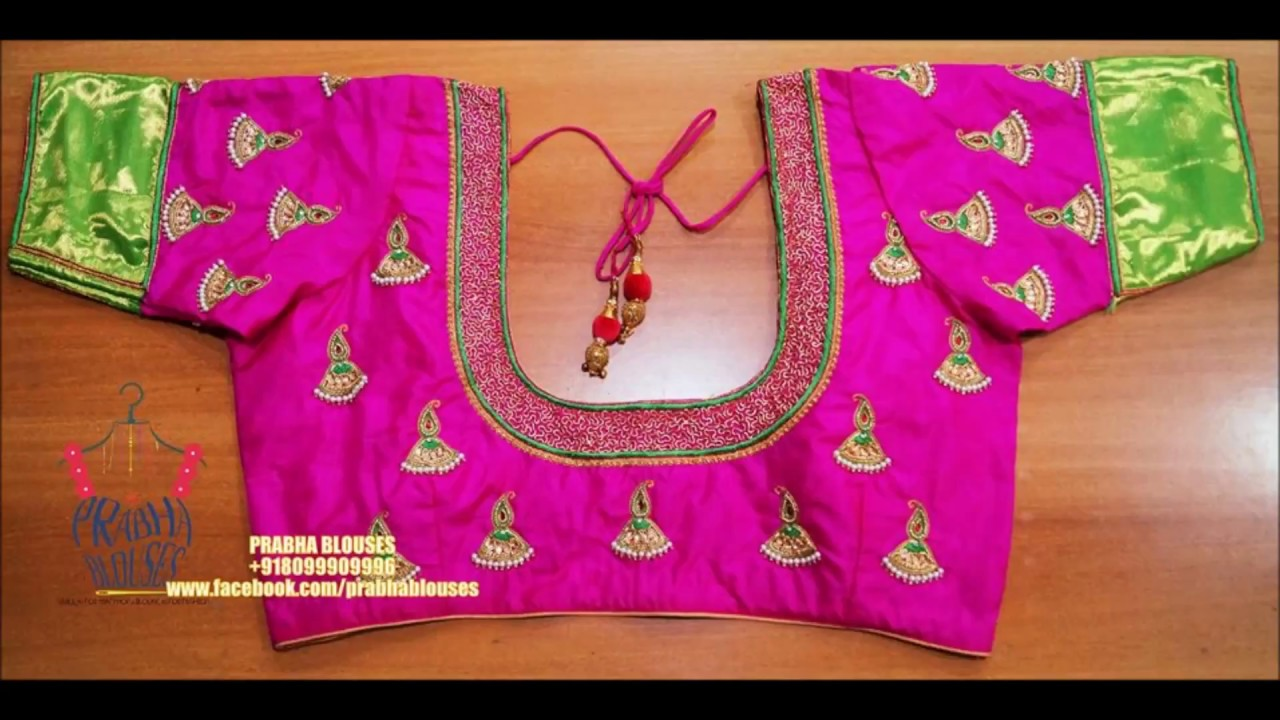 Latest Maggam Work Blouse Collection By Prabha Blouses By