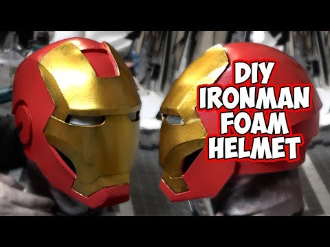 DIY IronMan Mark 4 Foam Helmet