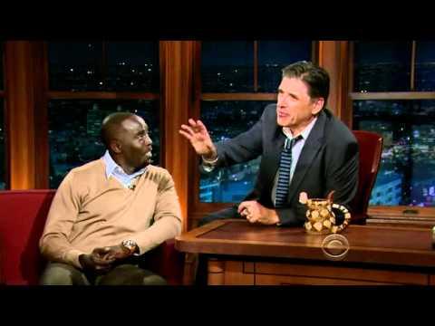 Craig Ferguson 11/10/11E Late Late Show Michael K Williams