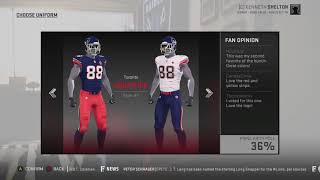 c8d8fe320 Madden 19 - Every Single Relocation City, Team, AND Uniform ...