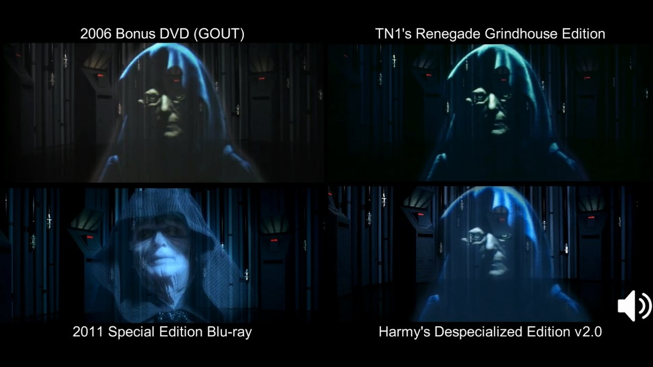 Watch empire strikes back despecialized | Despecialized edition are