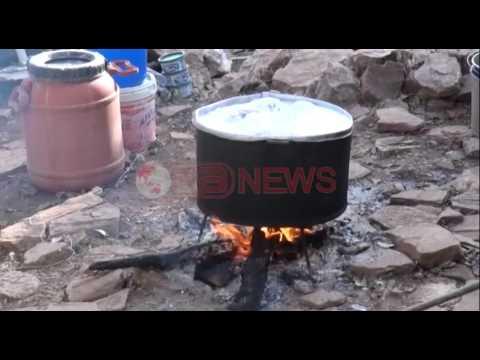 Elbasan , I digjet shtëpia, gruaja me tre fëmijë jetimë kërkon ndihmë - Ora News