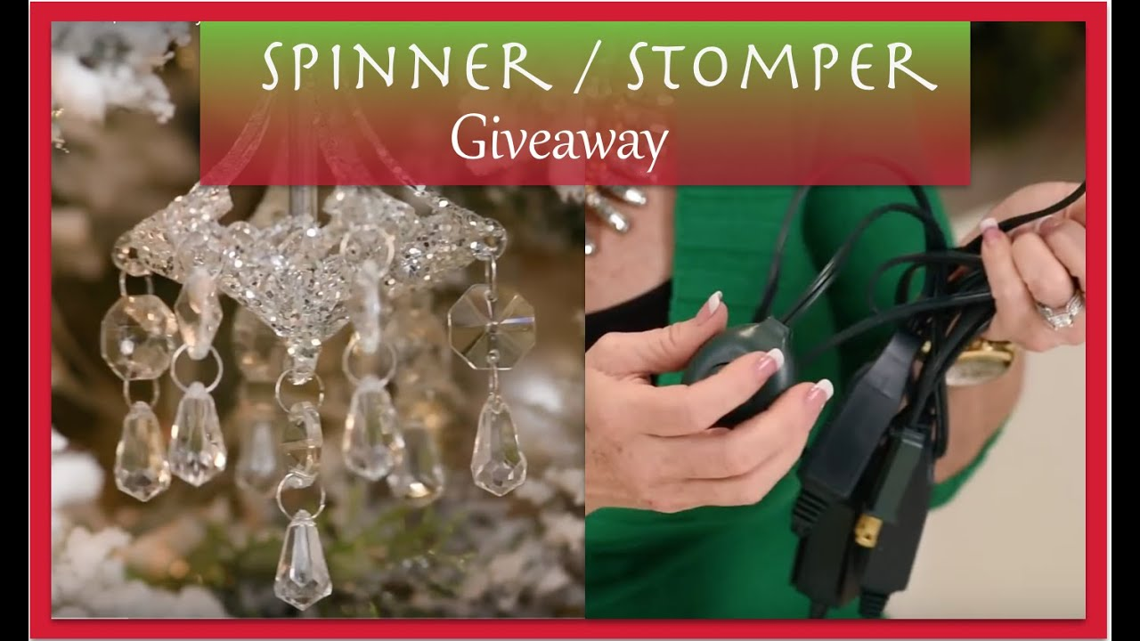 christmas decorations spinner and stomper christmas supplies youtube - Christmas Tree Spinner