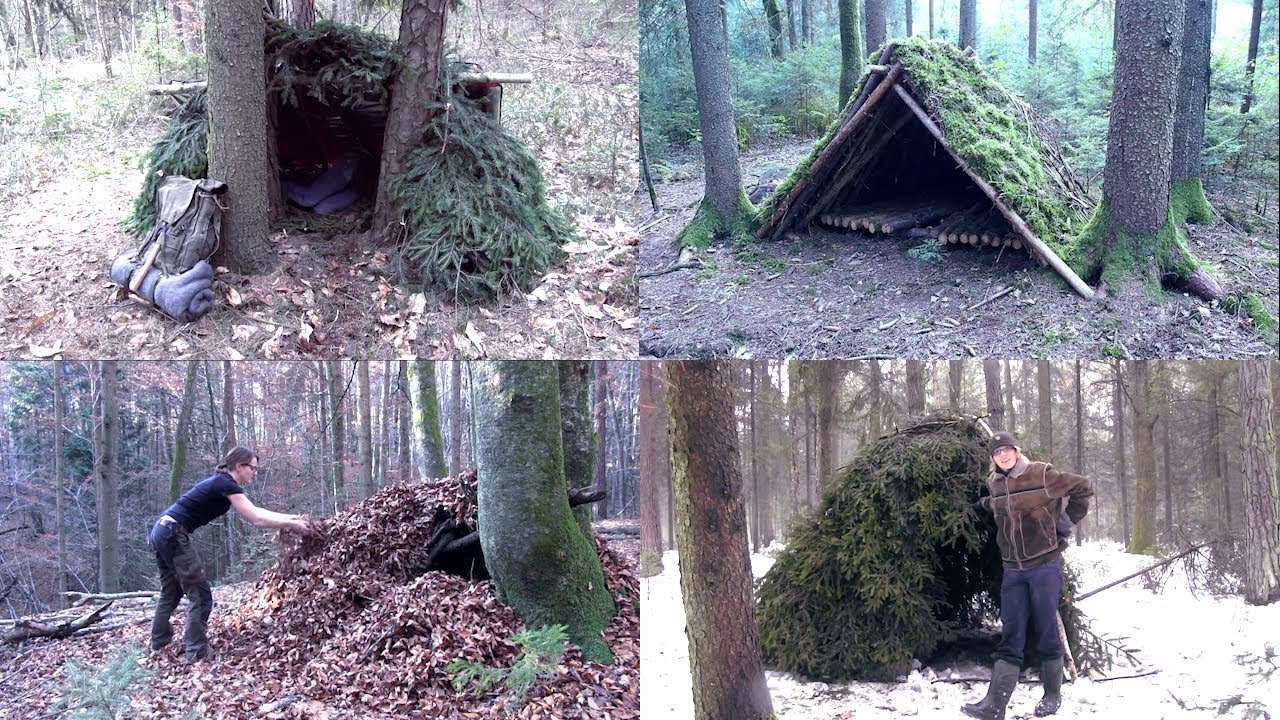 5 survival shelters you can make