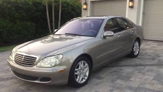 2006 Mercedes Benz S350 Review and Test Drive by Bill Auto Europa Naples