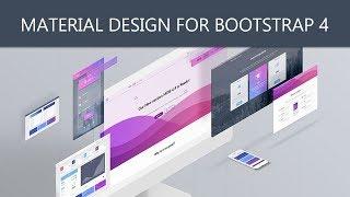 MDBootstrap - MDB Material Design for Bootstrap 4!