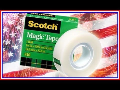 4th of July UnBoxing Scotch MAGIC Tape (We Don't Give A Frak)